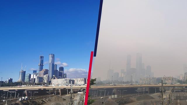 A Melbourne non si respira: ritiri, mascherine e qualità dell'aria ai minimi storici
