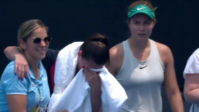 Momente teribile la Australian Open. Jakupovic s-a prăbușit pe teren din cauza calității aerului