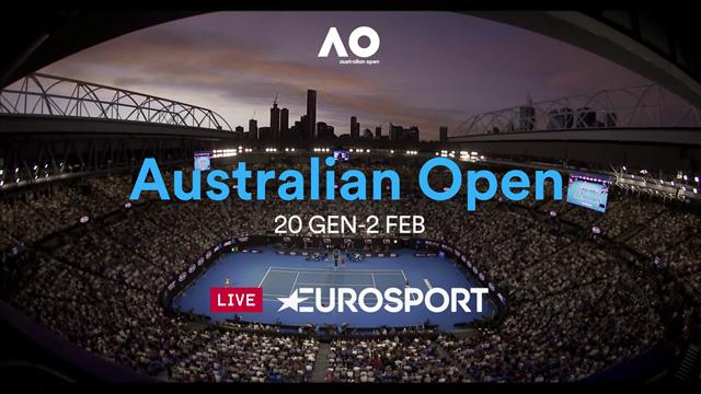Che altro c'è da dire? Scatenati con l'Australian Open su Eurosport ed Eurosport Player
