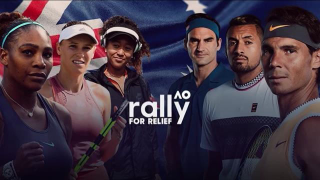 """""""Ensemble pour l'Australie"""" : Eurosport diffusera le match caritatif avec les stars du circuit"""