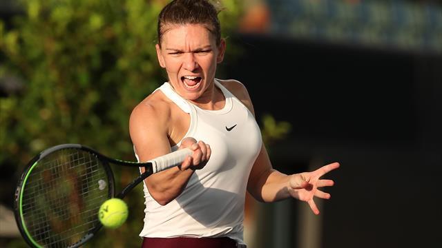 Prima reacție a Simonei Halep după victoria cu Ajla Tomljanovic de la Adelaide