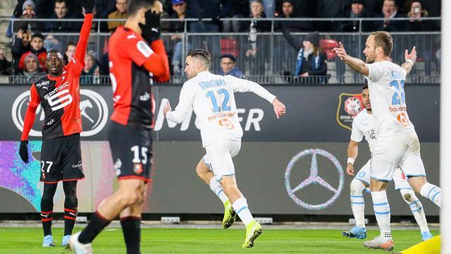 Rennes a fait un rapport sur le comportement des joueurs marseillais