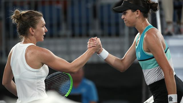 Simona Halep urcă în clasament după victoria cu Tomljanovic de la Adelaide