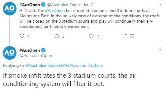 Tweet from @AusOpen