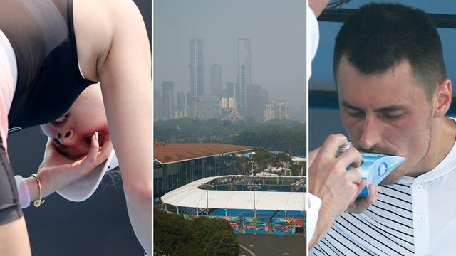 Air quality concerns at the Australian Open - what contingency plans are in place?