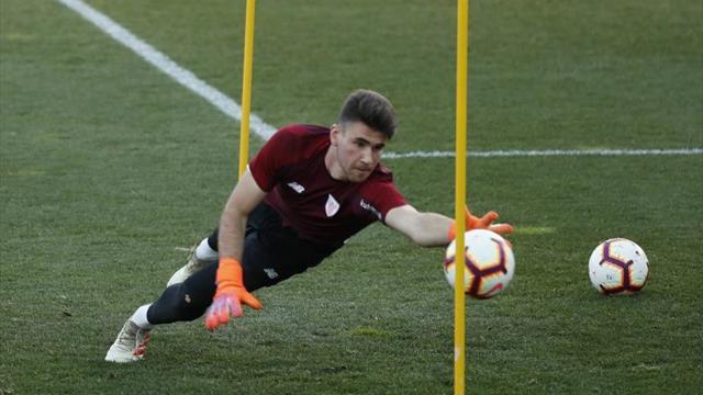 El Athletic regresa al trabajo con las ausencias de Unai Simón y Dani García