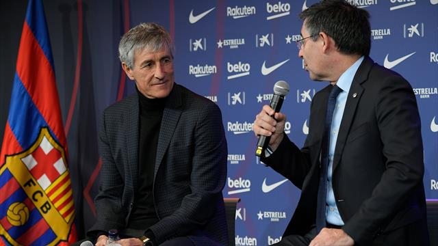 Substance must follow style as third-choice Setien takes the Barcelona hotseat