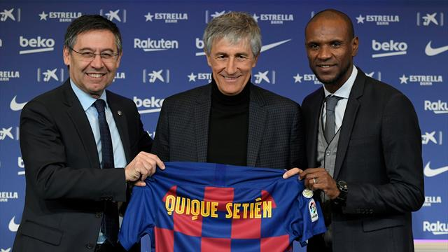 Setien: From walking with cows to coaching Barcelona in 24 hours
