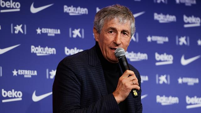 Quique Setién: Yesterday I was walking with cows, today I'm coaching the best players in the world