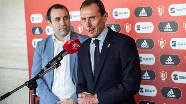 """Butragueño: """"Máximo respeto a Unionistas por la peligrosidad a partido único"""""""