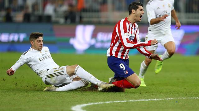 Gros sacrifice mais petite sanction : Valverde ne prend qu'un match après son tacle salvateur