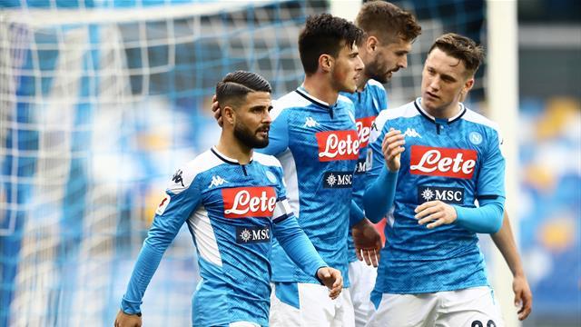 Il Napoli ritrova Insigne e la vittoria: Gattuso batte 2-0 il Perugia di Cosmi e vola ai quarti