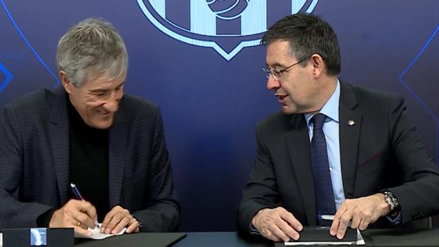 Barça - Sétien a signé son contrat