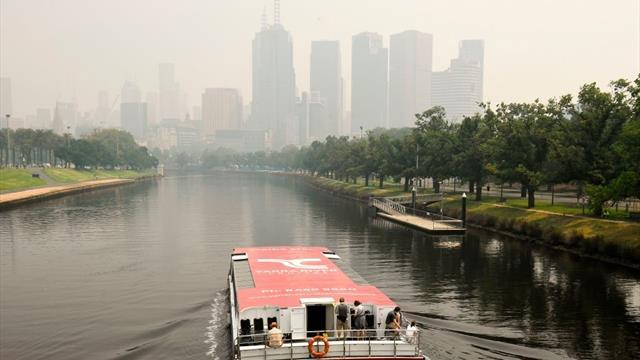 Open Australia 2020: Así está Melbourne, humo, mala calidad del aire y tenistas afectadas
