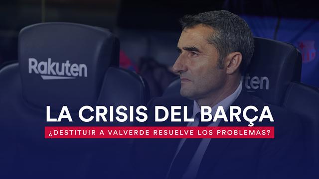 La crisis del Barça: ¿Destituir a Valverde resuelve los problemas azulgranas?