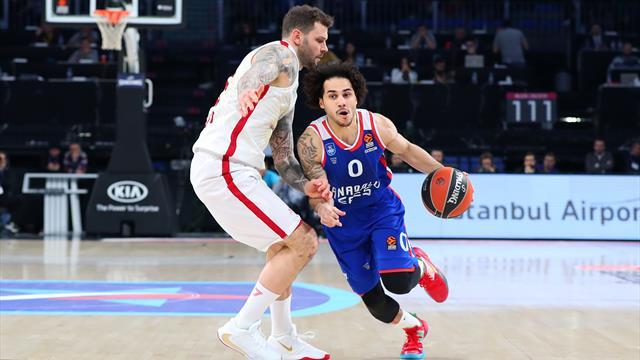 Il tris di trasferte comincia male: l'Olimpia Milano cade 88-68 contro la capolista Anadolu Efes