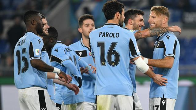 La Lazio vola ai quarti di finale: poker show alla Cremonese, Immobile ancora a segno