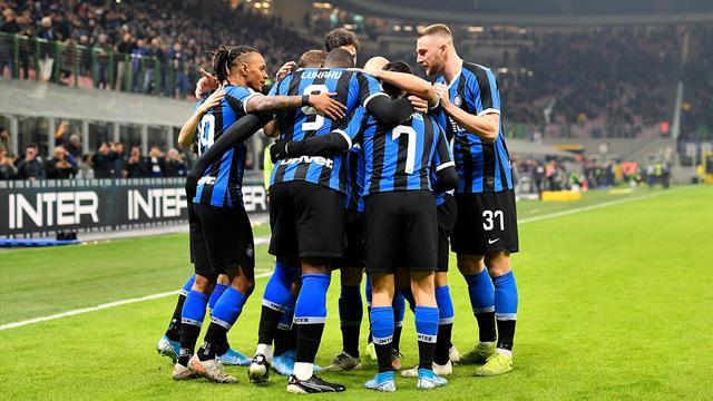 L'Inter, la Lazio Rome et Naples sans souci
