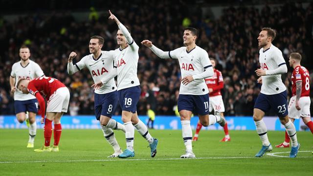 Il Tottenham balla il tango contro il Middlesbrough: Lo Celso-Lamela gol, Mou vola al quarto turno