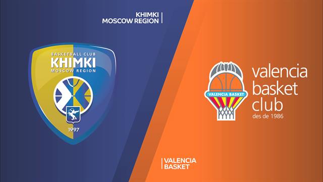 Highlights: Khimki Mosca-Valencia Basket 75-84