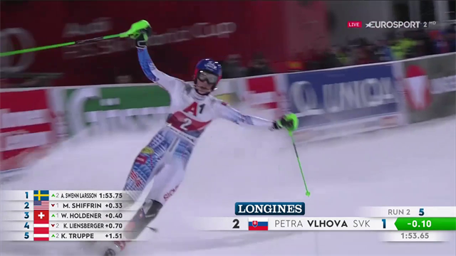 Vlhova senza rivali a Flachau! Trionfo e sontuoso bis in slalom davanti a Swenn-Larsson e Shiffrin