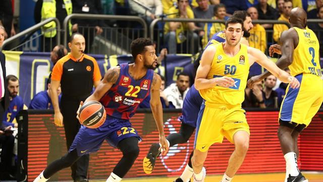 Euroliga, Maccabi-Barcelona: Se vuelve del fortín de Tel Aviv de vacío (92-85)