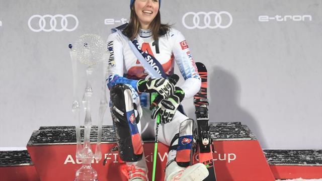 Vlhova repite el triunfo del año pasado en Flachau y Shiffrin sigue líder