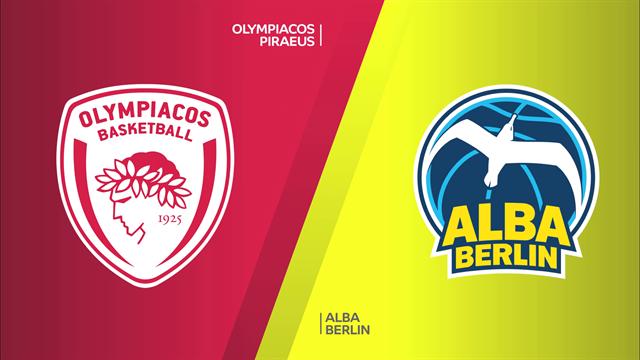 Highlights: Olympiacos Pireo-Alba Berlino 86-93