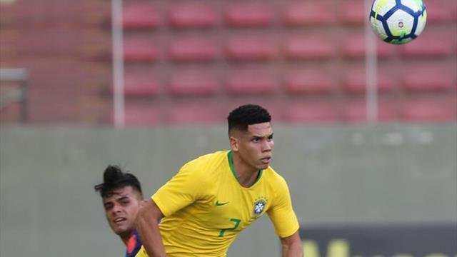 Brasil golea en amistoso en vísperas de su viaje a Colombia para el Preolímpico