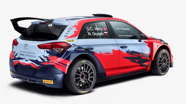 Former ERC Junior champion Gryazin's got talent… and he's proved it to Hyundai!