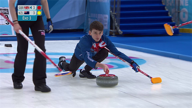 GB curlers see off Norway in thriller, but still suffer KO