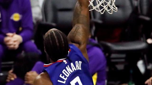 128-103. Leonard logra marca y Clippers muestran superioridad ante Cavaliers