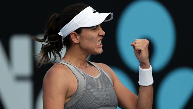WTA Hobart, Jabeur-Muguruza: Remontada y a cuartos