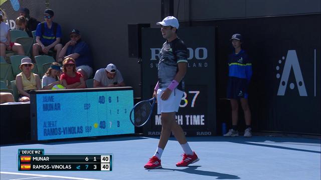 ATP Adelaide| Ramos-Vinolas verslaat Munar in twee sets