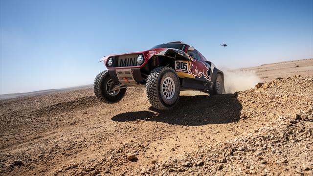 Dakar 2020, 10ª etapa: Doblete español para Sainz y Barreda en una etapa acortada por el viento
