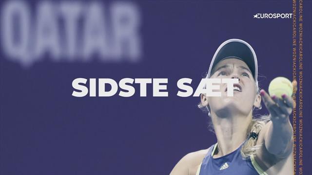 Sidste sæt: Optakt til Caroline Wozniackis sidste turnering