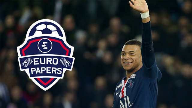 Panic in Paris as Mbappe stalls on new deal - Euro Papers
