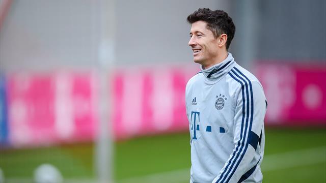 Aufatmen beim FC Bayern: Lewandowski zurück im Mannschaftstraining