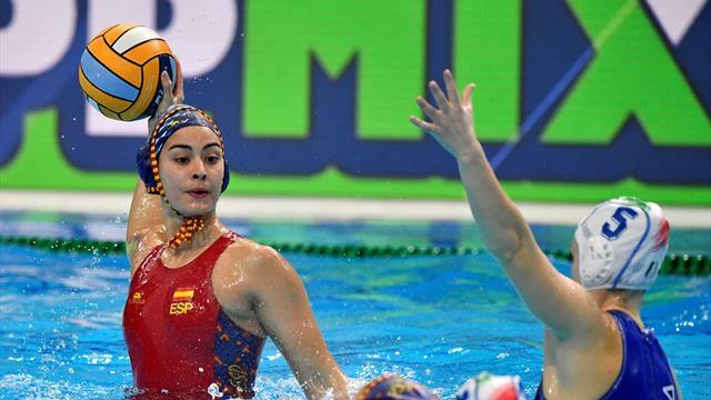 Europeo waterpolo femenino, España-Israel: A cuartos con solvencia (18-2)