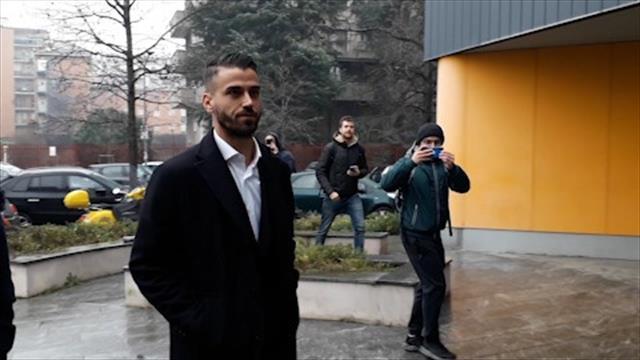 Inter, ecco Spinazzola: a Milano per le visite mediche