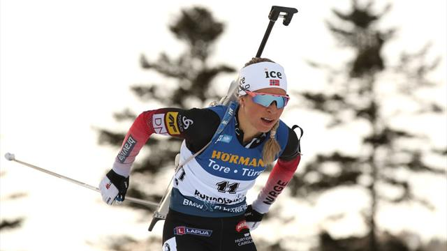 Highlights: Eckhoff takes fifth win of the season in Ruhpolding spring