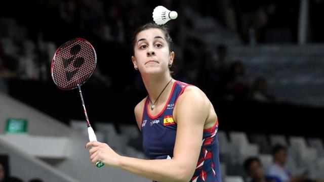 Carolina Marín resuelve por la vía rápida su primer partido en el Master de Indonesia