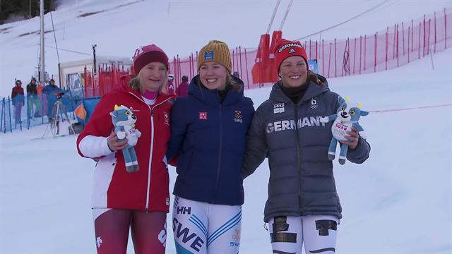 Emma Sahlin claims slalom success at Youth Olympics