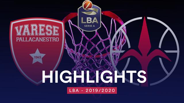 Highlights: Openjobmetis Varese-Allianz Pallacanestro Trieste 91-85
