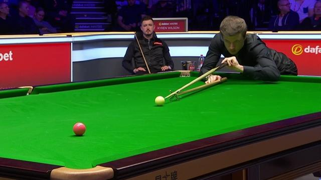 Lisowski misses presentable pink, Wilson clears to level