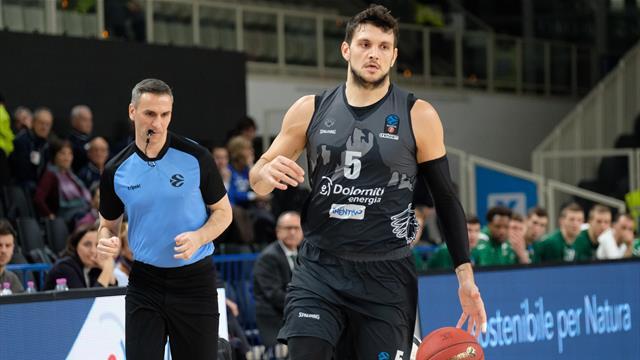 Trento sbatte contro il muro eretto dal Partizan Blegrado! L'Aquila crolla in casa 83-59