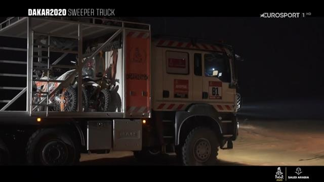 Dakar 2020: Así trabaja el 'camión escoba' para que nadie se quede en el desierto