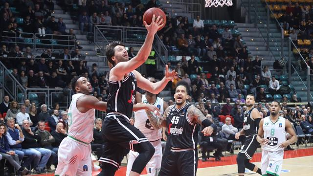 Prima vittoria in chiaroscuro nelle Top 16 per la Virtus Bologna: Darussafaka battuto 83-72
