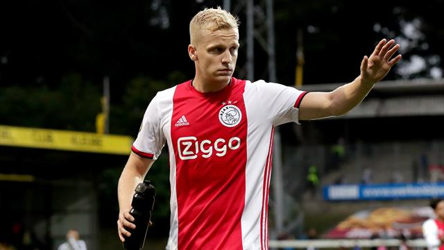 United and Real target Van de Beek set for move - Paper Round