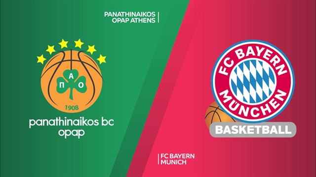 Highlights: Panathinaikos OPAP-FC Bayern Monaco 98-83